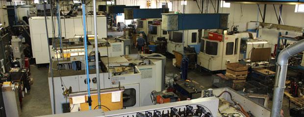 International Machining Inc. main shop floor